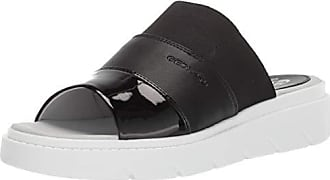 Geox Womens Tamas 3 Slide Sandal, Black Oxford 35 Medium EU (5 US)