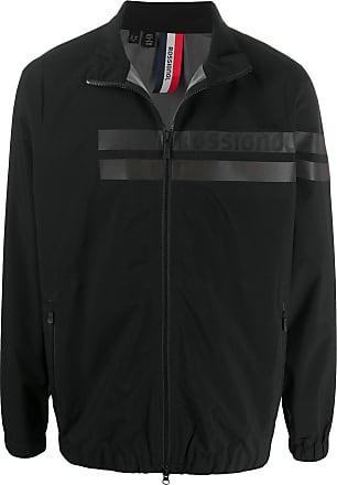 Rossignol striped-front zip-through jacket - Black