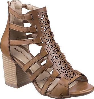27bc2af5211426 Hush Puppies Womens Ladies Malia Baja Leather Sandals (9 UK) (Tan)