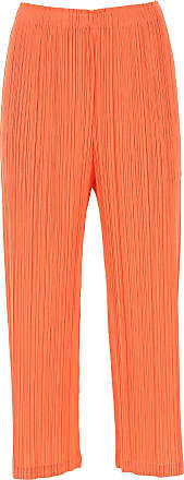 Issey Miyake Pants for Women On Sale, Coral, polyester, 2017, Universal size
