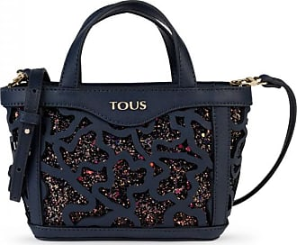 a3225401f4e0 Tous Mini navy blue kaos shock tote bag