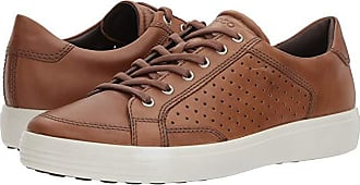 Ecco Soft 7 Retro Tie (Whiskey) Mens Lace up casual Shoes