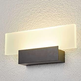 Lindby Impresionante lámpara de pared exterior LED Rieke