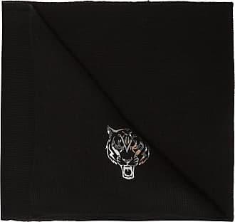 Plein Sport Scarf With Logo Womens Black