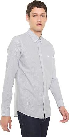 4c8157f59 Tommy Hilfiger Camisa Tommy Hilfiger Slim Essential Branca