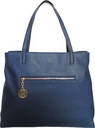 844a558ba95ed Tommy Hilfiger Tommy Hilfiger Saffiano PVC Top Handle Tote Handbag