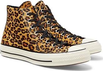 9d8a802dbf9c Converse 1970s Chuck Taylor All Star Leopard-print Faux Calf Hair High-top  Sneakers