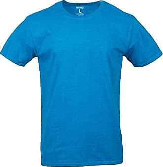 Gold Toe Mens Crew Neck T-Shirt, Antique Sapphire, 2X-Large