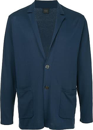 Durban single-breasted regular-fit blazer - Blue