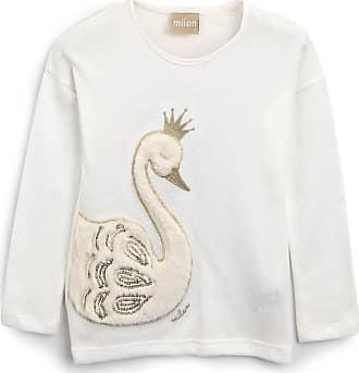 Milon Blusa Milon Infantil Cisne Off-White