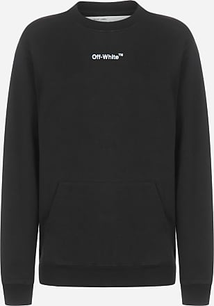 Off-white Sketch print cotton sweatshirt - OFF WHITE - woman