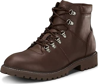 Jack & Jones Mens Jfwalbany Leather Brown Stone STS Biker Boots (Beta (Brown), Numeric_9_Point_5)