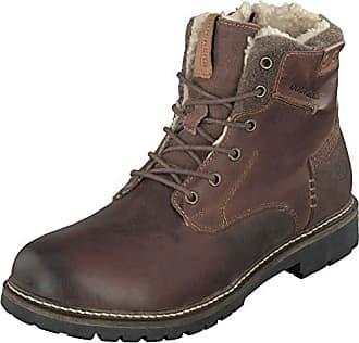 532f81ce5a32 Dockers Herren Schuhe Winter Boots Stiefel 41BN108-180380 in Dunkelbraun  (45 EU)