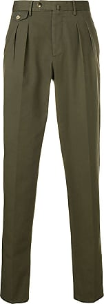 PT01 slim-fit tailored trousers - Green