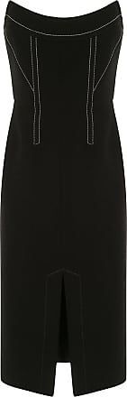Dion Lee Convex bustier dress - Black