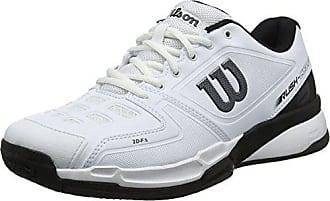 newest e6066 d457b Wilson Rush Comp, Chaussures de Tennis Homme, Blanc (White Black 000)