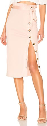 House Of Harlow x REVOLVE Bas Midi Skirt in Blush