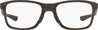 Ray-Ban Unisex Adults 0OX8107 Optical Frames, White (Matte Woodgrain), 53.0