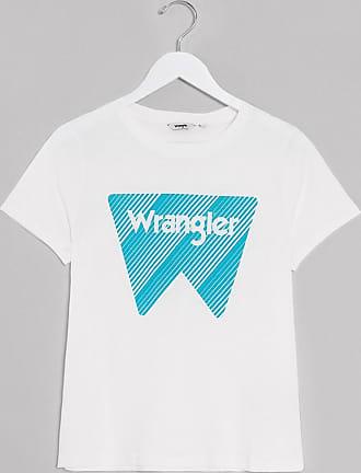 Wrangler T-shirt bianco sporco