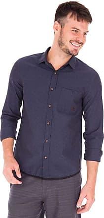 SideWalk Camisa Listra Horizontal - Azul Marinho - Tamanho GGG