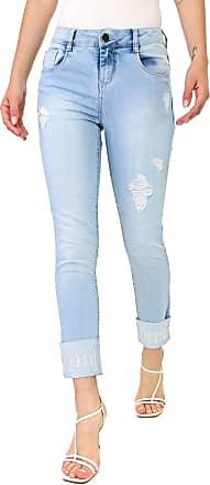 Morena Rosa Calça Jeans Morena Rosa Slim Giane Azul