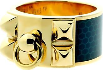Hermès Collier De Chien Gold Ring