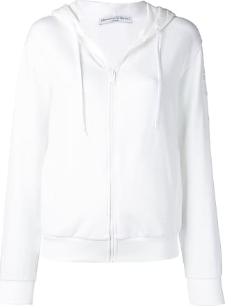 Ermanno Scervino hooded logo jacket - White