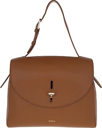 Furla Satchel Bags - Net Medium Top Handle Cognac - cognac - Satchel Bags for ladies