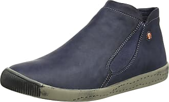 045faa7b2275 Softinos Womenss Inge Mocassin Boots Blue (Navy) 5 UK 38 EU