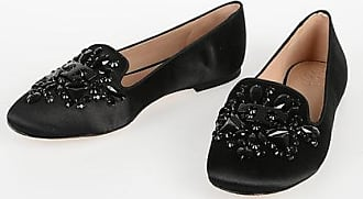 Tory Burch Embroidered Jewel DELPHINE Ballet size 5