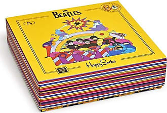 Happy Socks Unisex The Beatles Limited Edition Yellow Submarine EP Collectors Box (3 Pair)