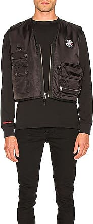 032c Embroidered Patch Vest in Black