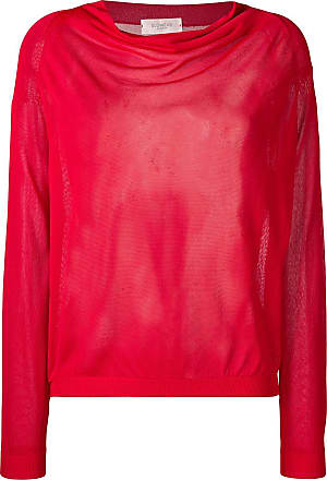 Zanone relaxed fit jumper - Red