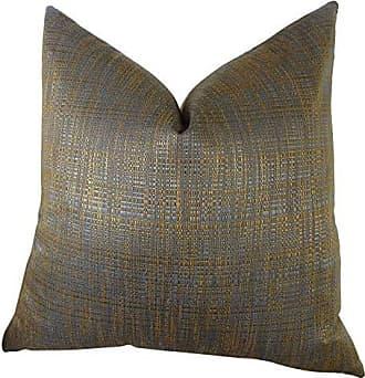 Plutus Brands Plutus Clonamore Handmade Throw Pillow 12 x 20 Blue/Brown