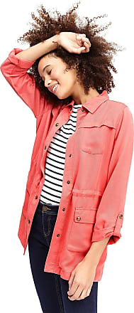 Joules Ladies Cassidy Safari Jacket - Red Sky - 14