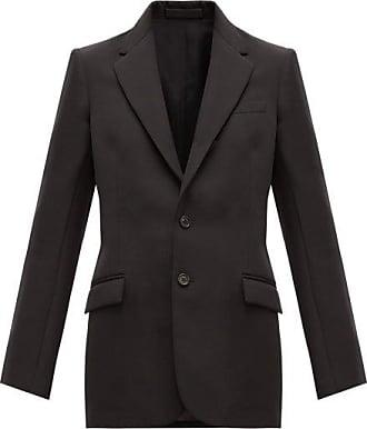 Wardrobe.NYC Wardrobe.nyc - Release 01 Single-breasted Wool Blazer - Womens - Black