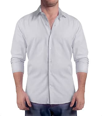 Sergio K. Camisa Light Twill Cinza