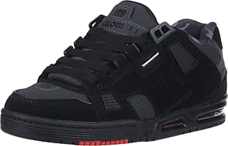 Globe Mens Sabre Skate Shoe, Black/Night/red, 10 M US