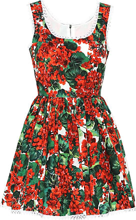 Dolce & Gabbana Floral cotton minidress