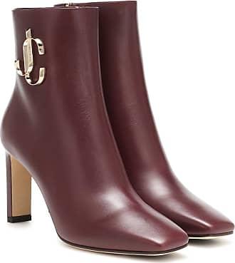 Jimmy Choo London Minori 85 leather ankle boots