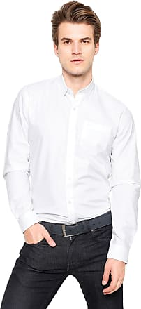 Lacoste Camisa Lacoste Regular Fit City Branca