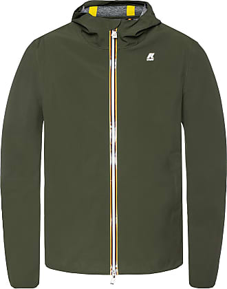 K-Way Jack Bonded Jersey Jacket Mens Green