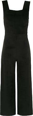 Osklen cropped jumpsuit - Black
