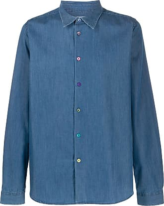Paul Smith Camisa jeans de alfaiataria - Azul