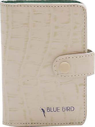 Blue Bird Porta Cartão de Couro Nude - Mulher - Único BR
