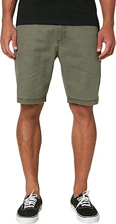 O'Neill Mens Standard Fit Stretch Chino Walk Short, 20 Inch Outseam - Green - 42