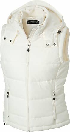 James & Nicholson JN1005 Ladies Puffer Quilted Water Resistant Gilet Natural Size XXL