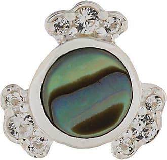 Astley Clarke Par de brincos Mini Abalone Luna de orata - Metálico