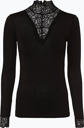 Y.A.S Damen Langarmshirt - Yasblace schwarz