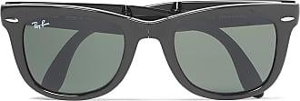 Ray-Ban Wayfarer Folding Acetate Sunglasses - Black